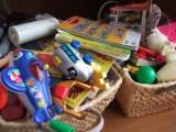 リビングのおもちゃを処分