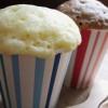 ホットケーキミックスと電子レンジで簡単もこもこカップケーキの作り方