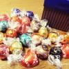 リンツチョコレートの限定バレンタインギフトが届きました