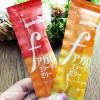 グミといえば味覚糖、のfアガロコラーゲンゼリーは甘くて噛みごたえあっておいしい