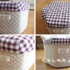 牛乳パック椅子の作り方(六角形)。組み立ては簡単!布カバーあり。
